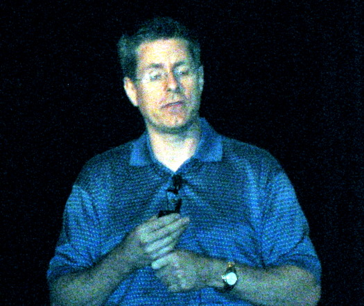 Ed Doller speaking at MemCon09